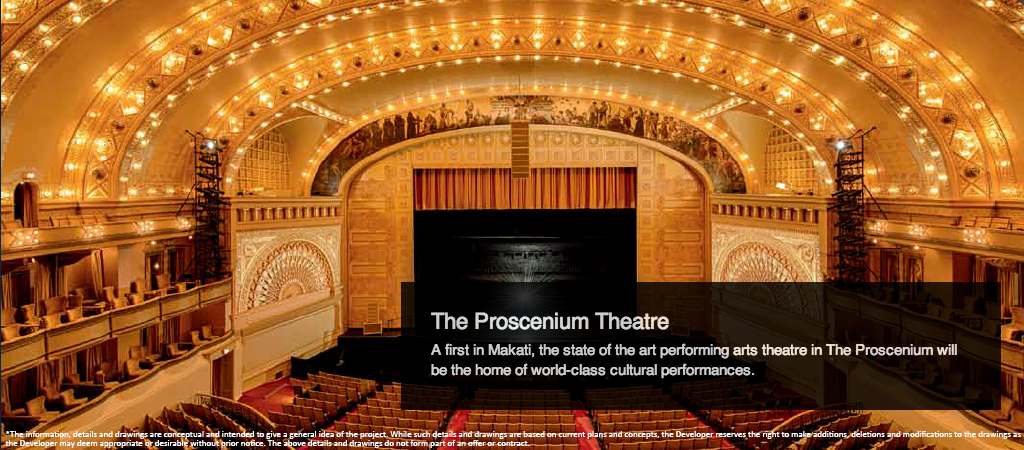 The proscenium will be the home of world class cultural performances